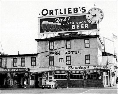 Ortlieb's Beer Billboard