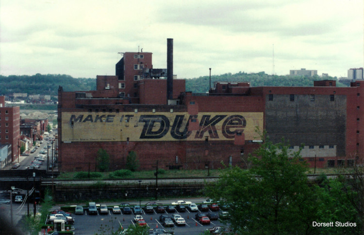 Side of the Duquesne Brewery