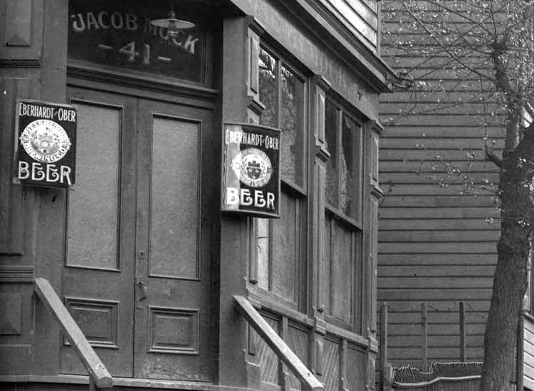 Eberhardt Ober Beer Signs