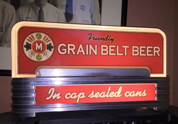 Grain Belt Beer Price Brothers Inc. Lighted Sign