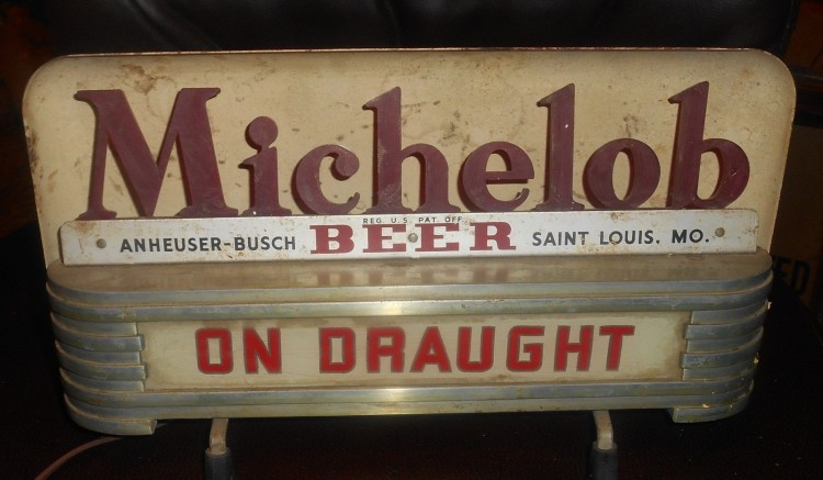 Michelob Cash Register Light