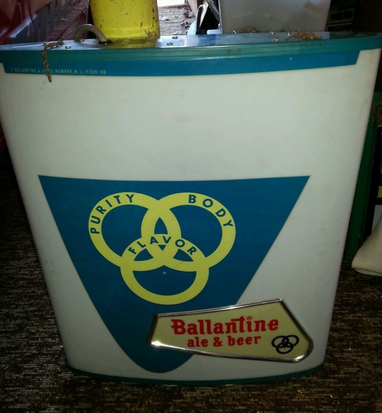 Ballentine Beverage Dept. Sign