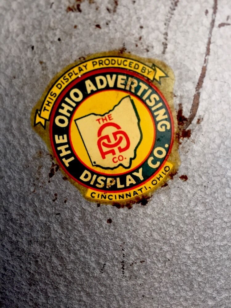 The Ohio Advertising Display Co Decal