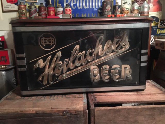 Horlacher's Beer Neon Box Light