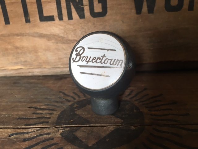 Boyertown Beer Ball Tap Knob
