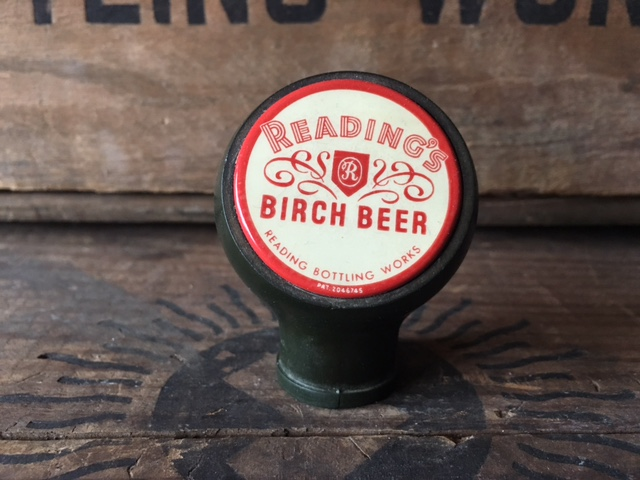 Reading Birch Beer Ball Tap Knob