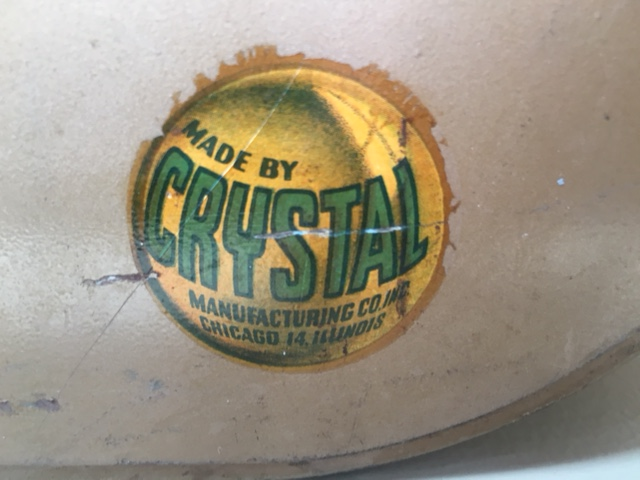 Crystal Manufacturing Co Inc Decal