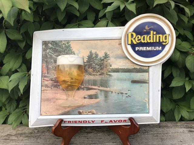 Reading Premium Beer Lake Sign