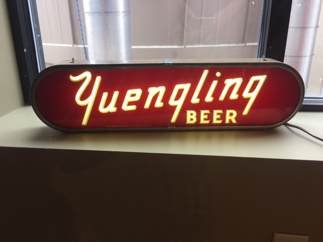 Yuengling Beer Lighted Sign