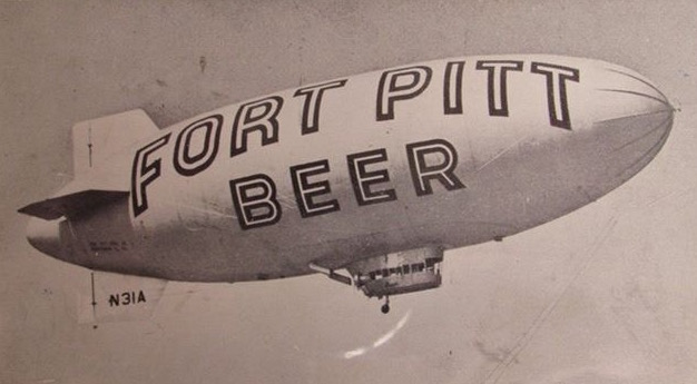 Fort Pitt Beer Blimp
