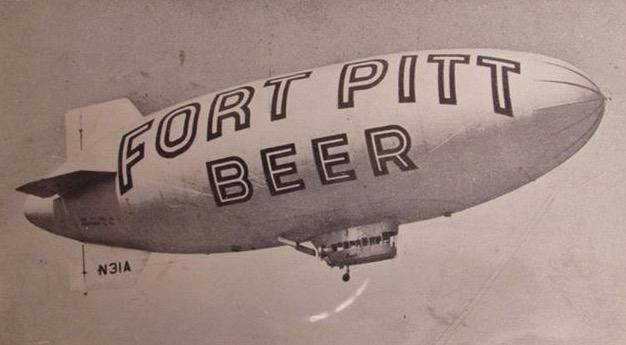 Fort Pitt Beer Blimp