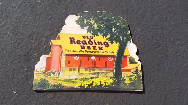 Old Reading Beer Red Barn Sign