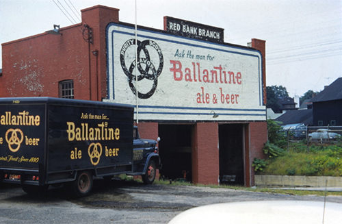Ballantine Beer Delivery Truck