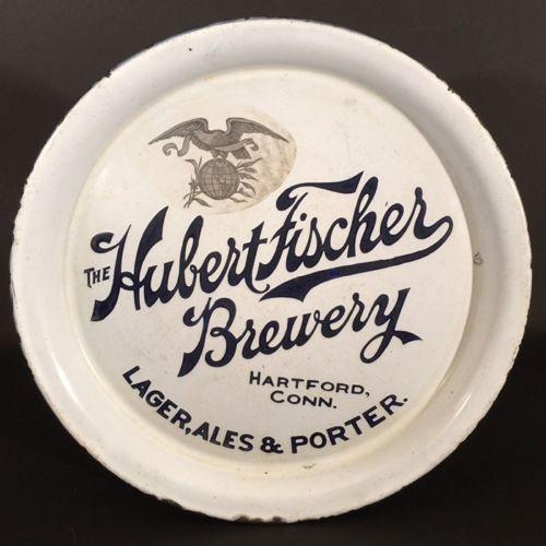 Hubert Fischer Brewery Porcelain Beer Tray