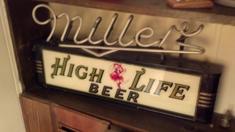 miller high life neon sign Lumin-Art Display Corp