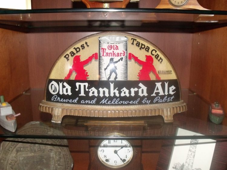 Pabst Old Tankard Ale Gillco Cab Light Sign