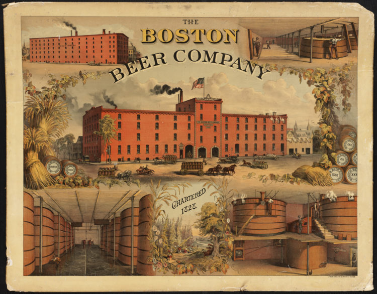 Boston Brewing Company Litho