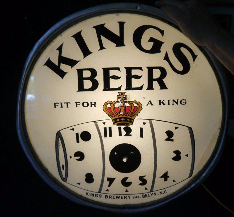 Kings Beer Clock