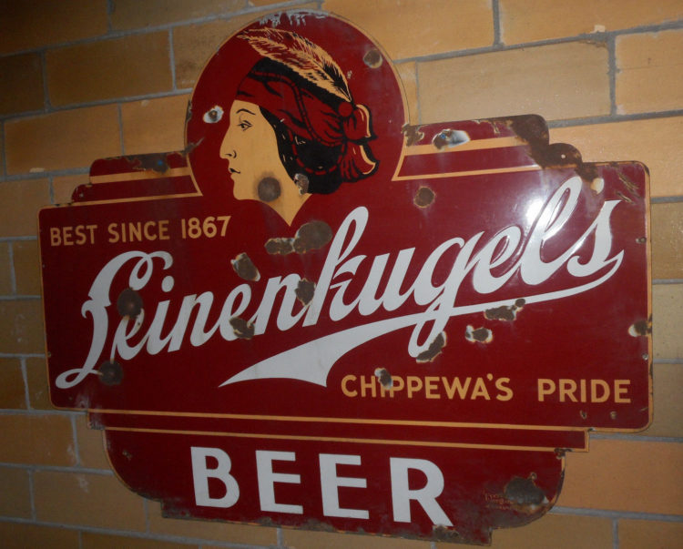 Leinenkugel's Beer Porcelain Sign