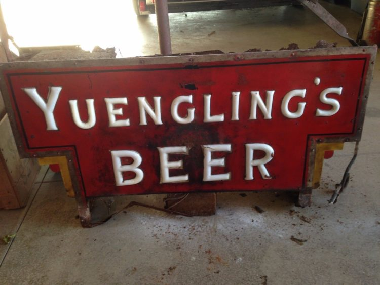 Yuengling's Beer Sign