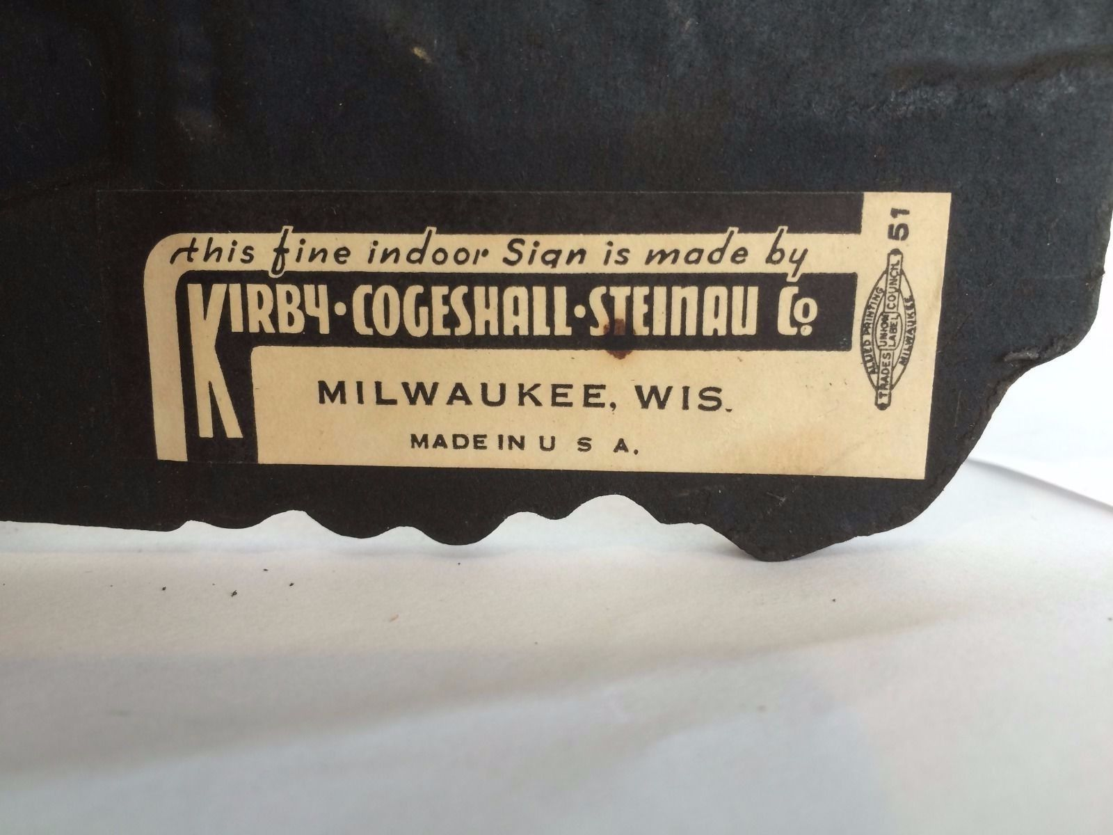 kirby-coggeshall-steinau co label