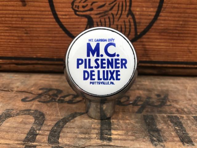 White MC Pilsener Deluxe Ball Tap