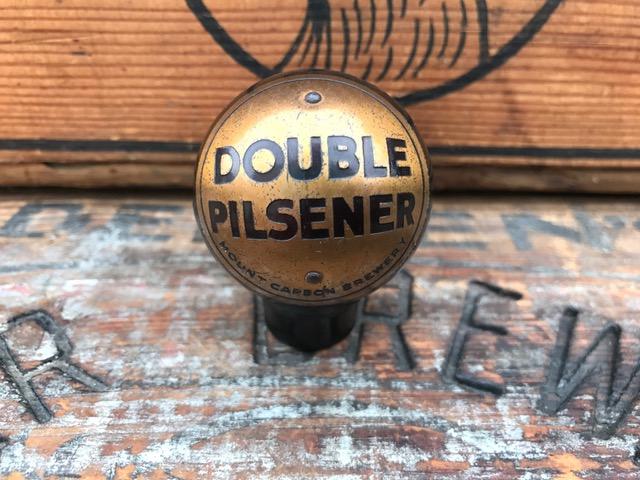 double pilsener beer mount carbon brewery ball tap knob dakaware