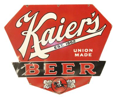 Kaiers Beer Sign