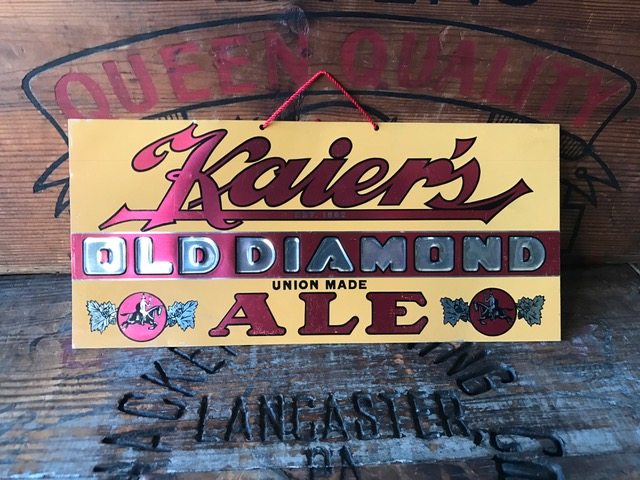 Kaier's Old Diamond Ale Sign
