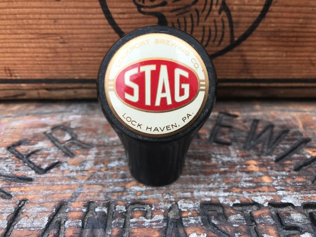 lockport stag beer ball tap knob fisher products inc true name