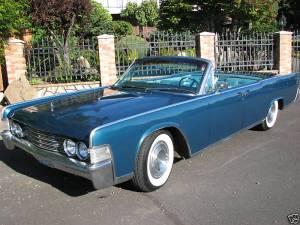 1965 Lincoln, Blue
