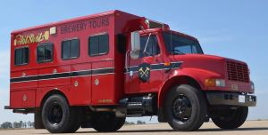 Hotshots Firetruck - Brewery Tours