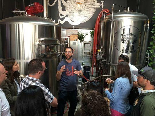 San Fran Brewery Tours