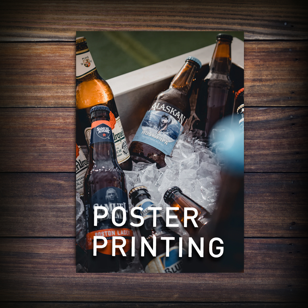 poster brewery print