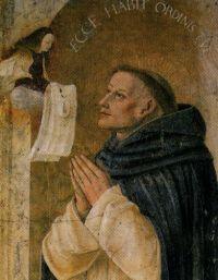 Maryja ofiarowuje Reginaldowi szkaplerz dominikański