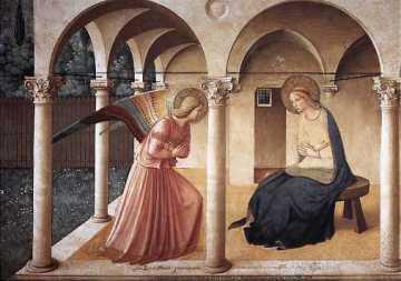 Zwiastowanie - Fra Angelico