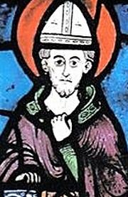 Święty Fulbert z Chartres