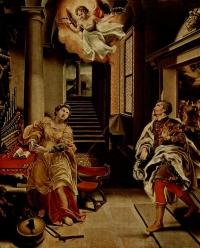 Święta Cecylia i święty Walerian
