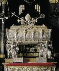 Relikwie św. Stanisława w Krakowie
