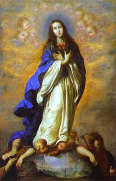 Francisco de Zurbaran: Niepokalana Maryja