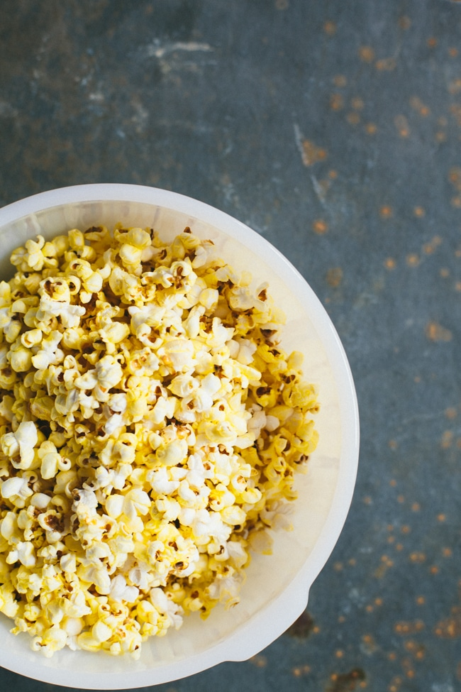 The Perfect Buttery Kettle Corn