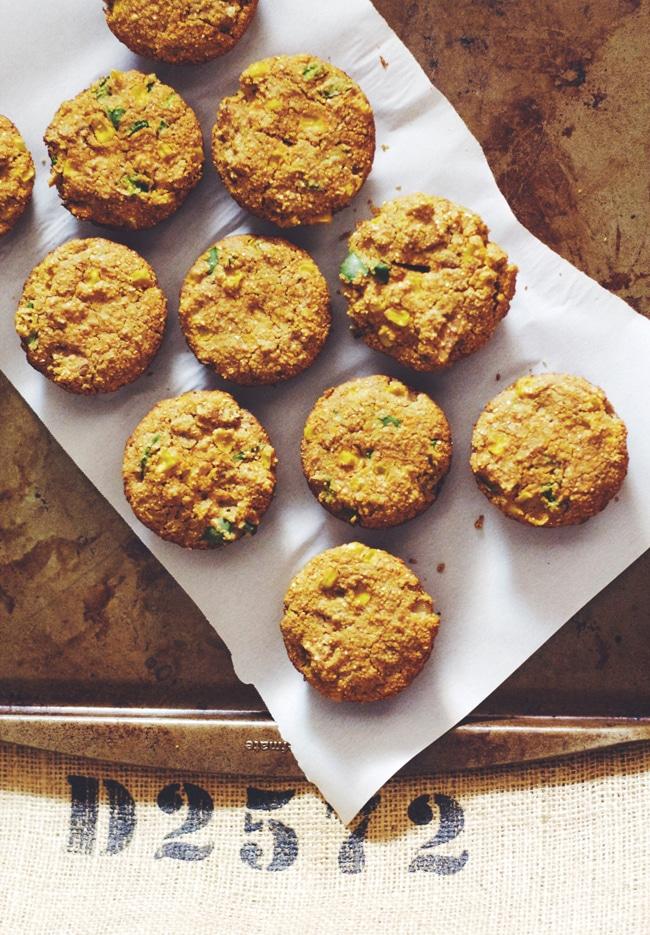 healthy cajun cornbread muffins
