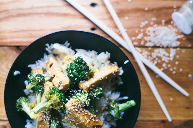30 minute teriyaki chicken bowl