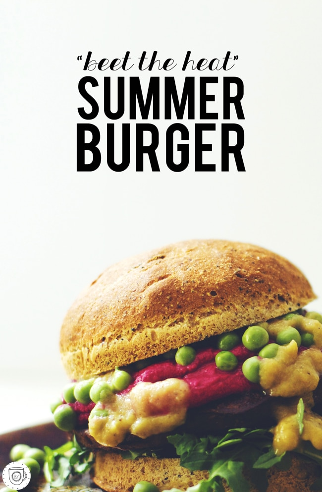 Beet the Heat Summer Burger