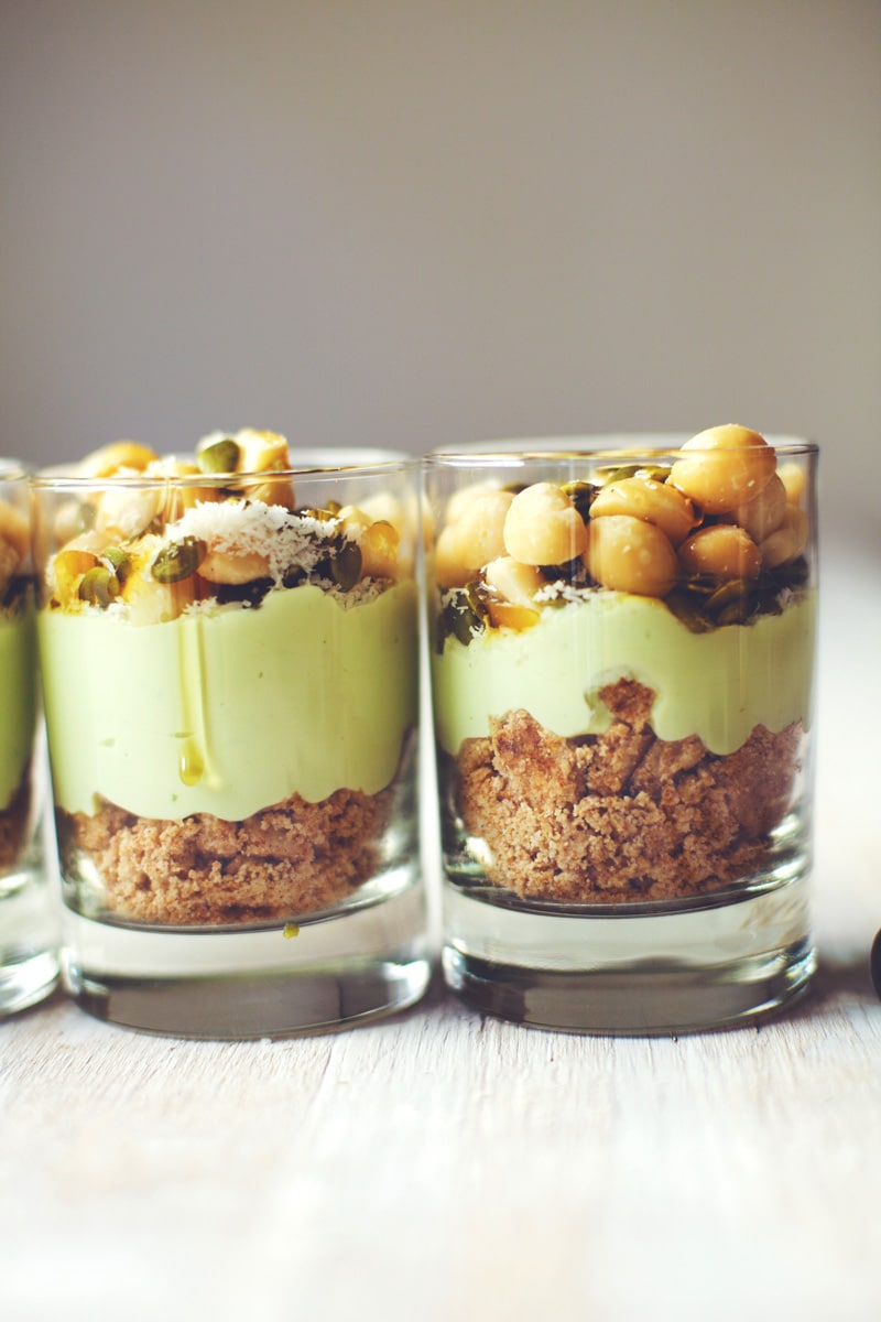 Key Lime Pie Breakfast Parfait