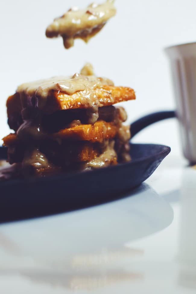 4 ingredient easy mushroom gravy