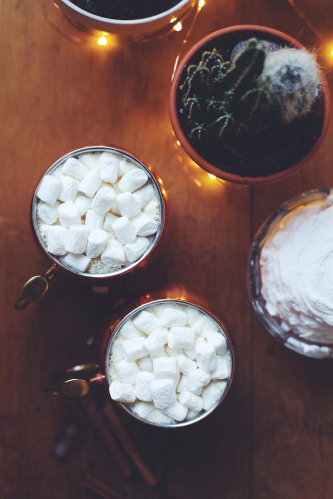 coconut dirty chai - recipe on UO blog