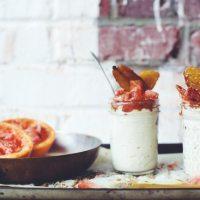 easy and health-ier dessert with vanilla cashew cream