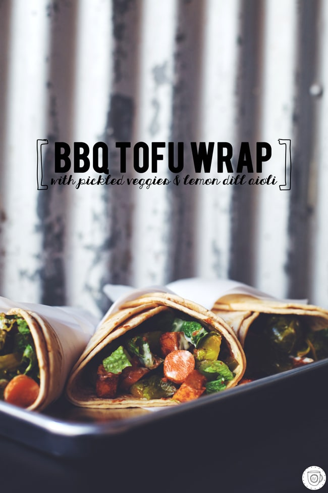 delicious southern inspired dinner wrap
