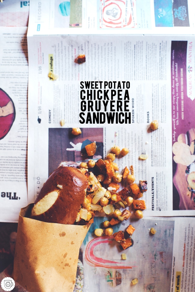 simple and warm sandwich idea